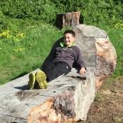 Relaxing in Big Sur