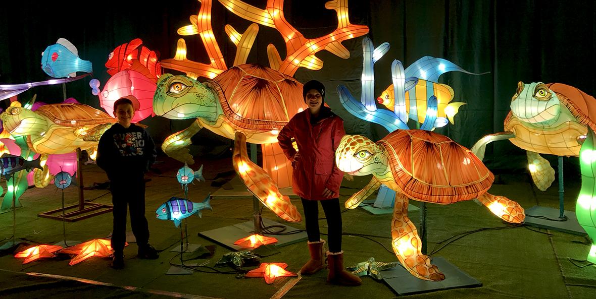 Cal Expo Christmas Lights.Global Winter Wonderland Lantern Festival At Calexpo Sacramento