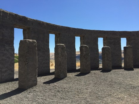 Stonehenge War Memorial for Soldiers from Klickitat County, Washington