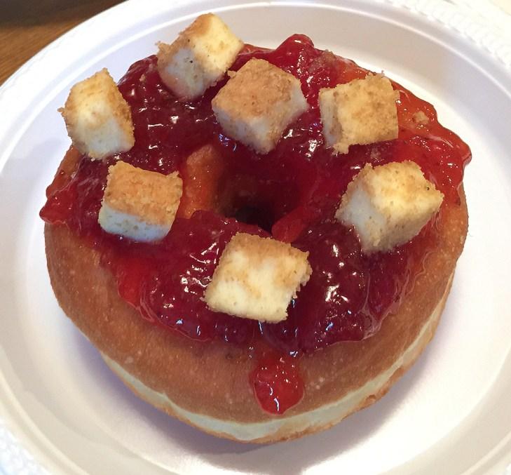 Starwberry Jam Cheesecake Doughnut
