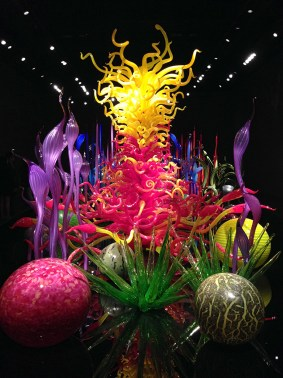Glass Art Museum at Seattle Center Featuring The Work of Dale Chihuly