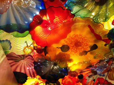 Chihuly Glass Artwork Ceiling