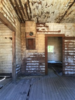 Look Inside Old Farmhouse Cabin