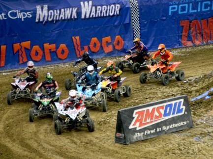 Monster Jam ATV Racing in Sacramento