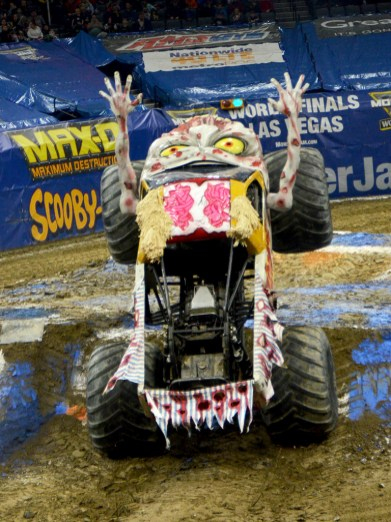 Monster Jam Zombie Monster Truck Tricks