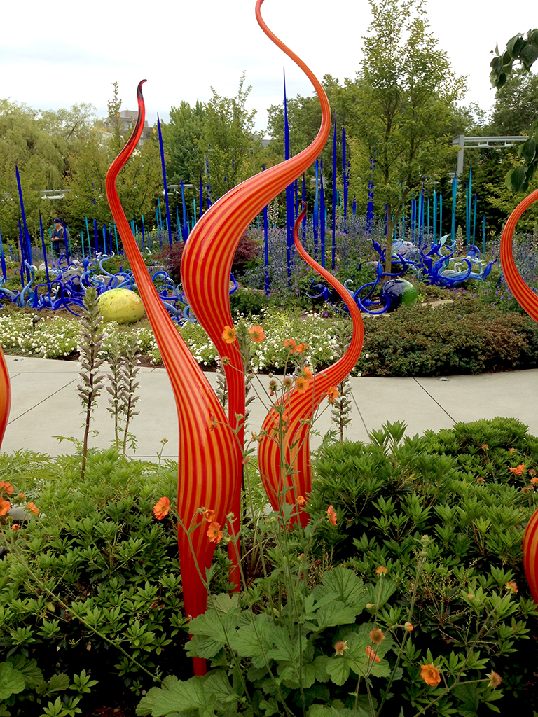Chihuly Garden And Glass Exhibition At Seattle Center Washington