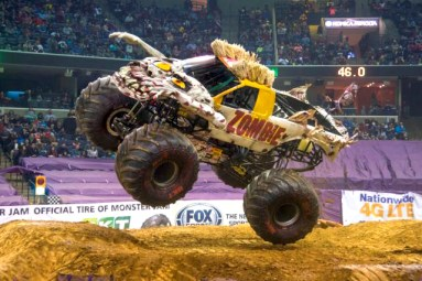 Zombie Monster Jam at Sacramento Golden 1 Center