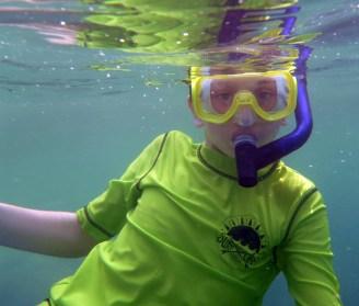 Family Snorkeling in Hawaii