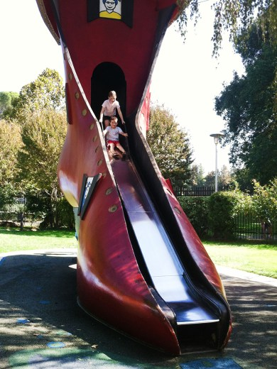 Old Woman Who Lived In The Shoe Slide