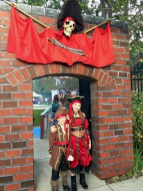 Fairytale Town in Sacramento Hosts Pirate Themed Safe Halloween Night