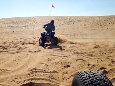 Riding Quads on the Pismo Beach Sand Dunes