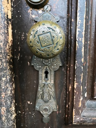 Historic Home Doorknob and Details