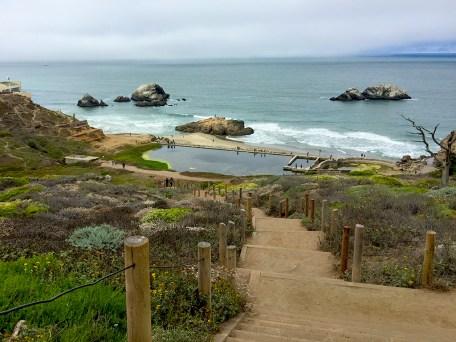 Historic Sutro Baths Ruins in San Francisco