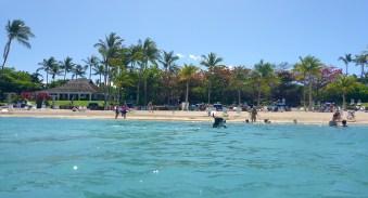 Mauna Lani Hotel Public Beach at Makaiwa Bay, Hawaii