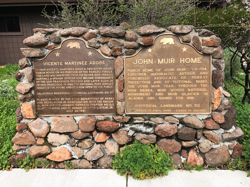 Vicente Martinez Adobe And John Muir Home