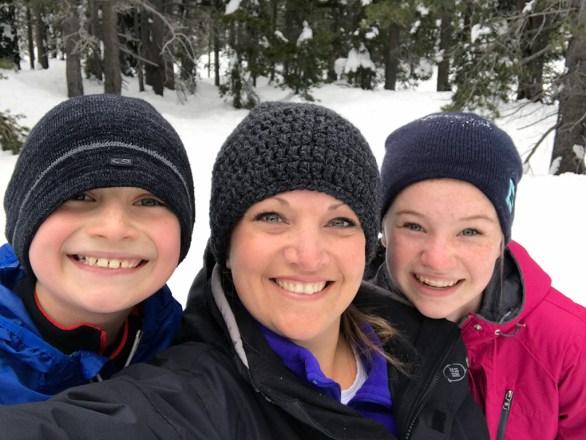 Family Sledding at the I-80 Sno-Park