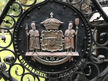 Historic Hulihe'e Palace Gate
