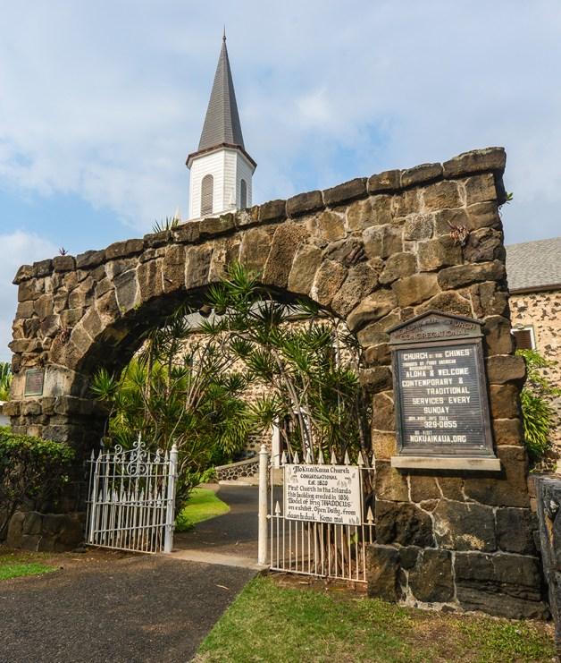 Old Moku'aikaua Church in Kona