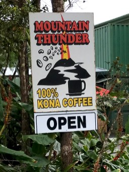 Mountain Thunder Kona Coffee