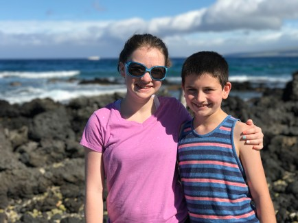 Natalie and Carter Bourn in Hawaii