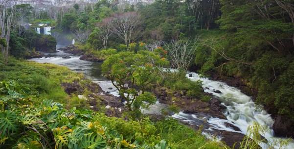 Pe'epe'e Falls on the Wailuku River