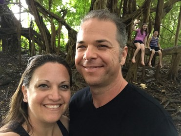 Bourn Family on Vacation in Hawaii