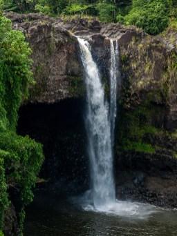 Rainbow Falls in Hilo Hawaii