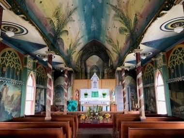 Saint Benedict's Painted Church, A Catholic Church in Honaunau