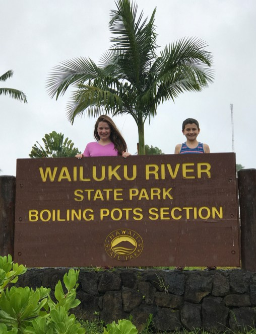 Wailuku River State Park Boiling Pots