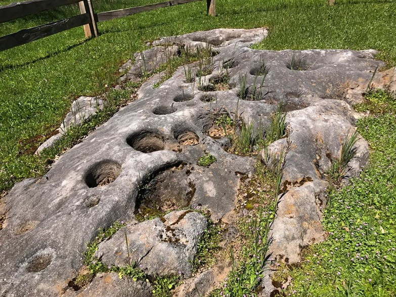 Indian Grinding Rock Motar Holes
