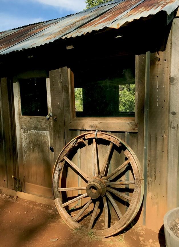 Old McLaughlin Ranch Farm Buildings