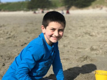 Carter Bourn at Pudding Creek Beach