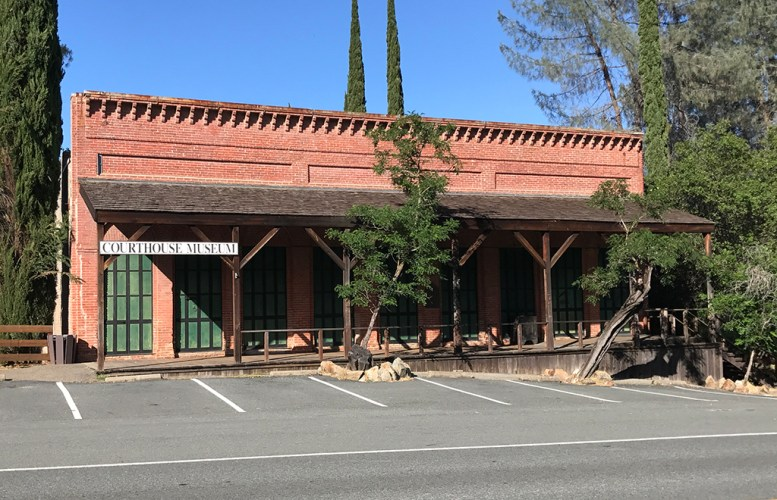 Courthouse Museum at Shasta State Historic Park