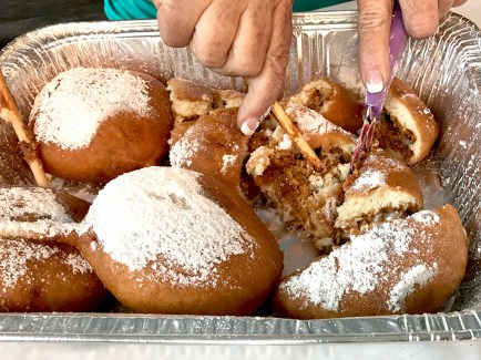 Deep Fried Little Debbie Oatmeal Cookies at The Sacramento County Fair