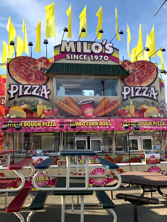 Milo's Pizza Two Story Food Truck