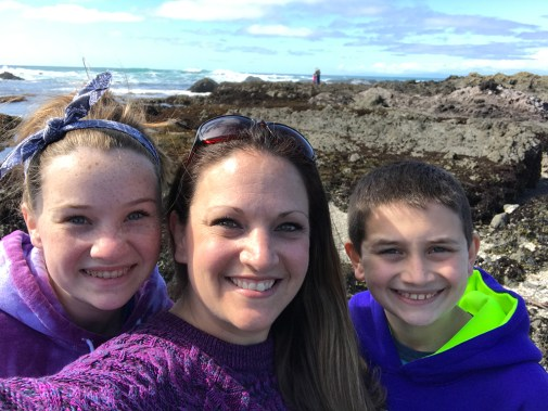 Family Tidepooling at MacKerricher State Park