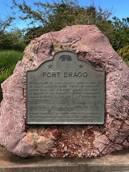 Fort Bragg California Historical Landmark
