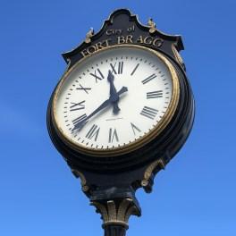 Fort Bragg Clock