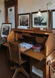 Museum Office Exhibit at Guest House