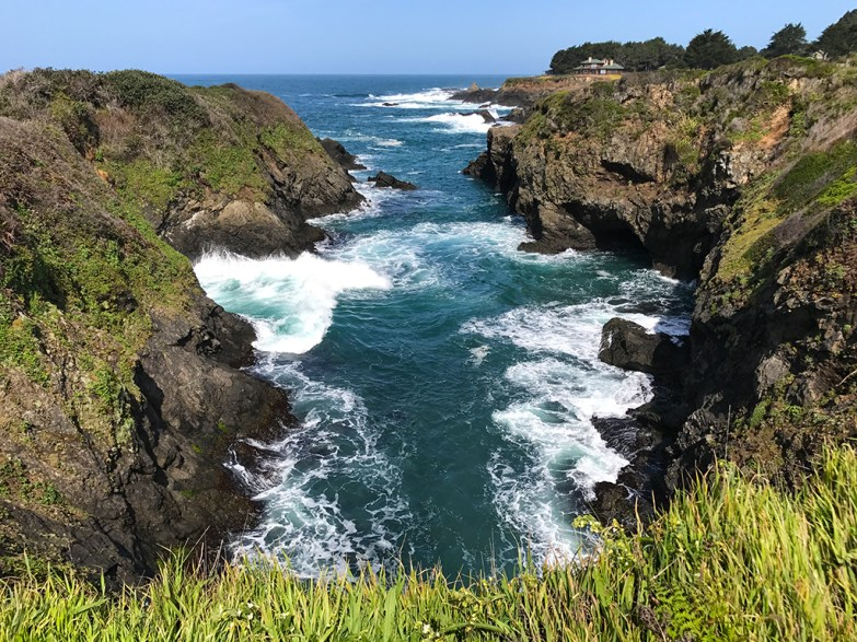 Hiking the Pacific Coast in Northern California