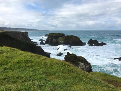 The Rocky Pacific Coastline in Fort Bragg, California