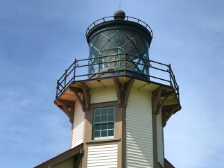 Point Cabrillo Lighthouse Fresnel Lens