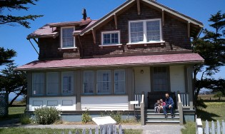 The Lightkeepers Cottage at Point Cabrillo Light Station