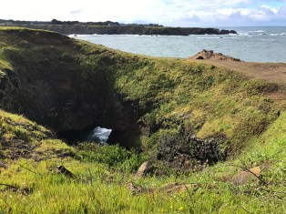 Skip's Punchbowl at Noyo Headlands Park