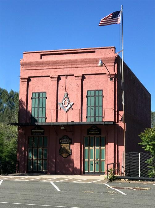 Western Star Lodge in Shasta State Historic Park