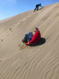Brian Bourn Sand Sledding