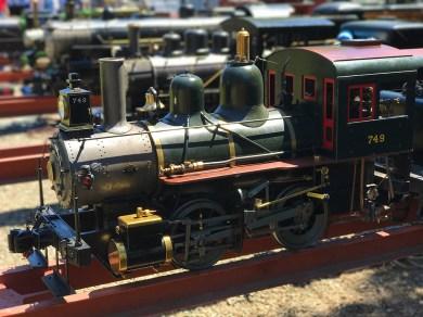 Live Steam Railroading in Rancho Cordova