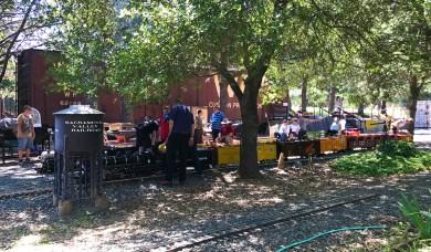 Live Steamers Railroad Meet at Hagen Park in Rancho Cordova