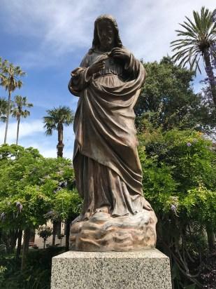 Mission Santa Clara Historic Statue