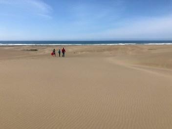 Natalie, Carter, and Brian at Ten Mile Dunes